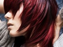 red ombre hair ciliegia