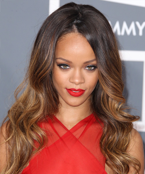 Natural hairstyles for Short Weave Hairstyles Rihanna