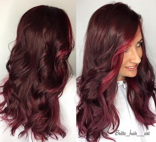 Acconciature color mogano - Trend Capelli